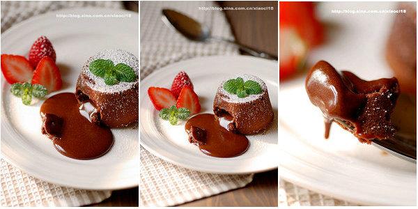 浓情巧克力熔岩蛋糕的做法